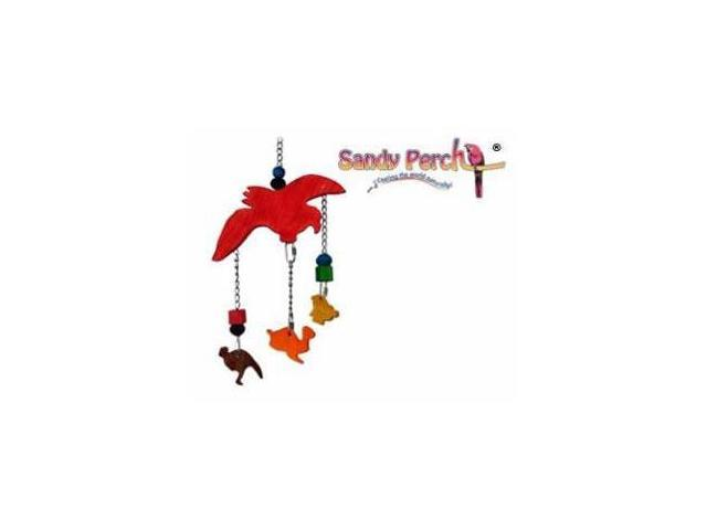 Parrotopia Toy 16  Noah Ark 17in x 10in Medium Bird Toy