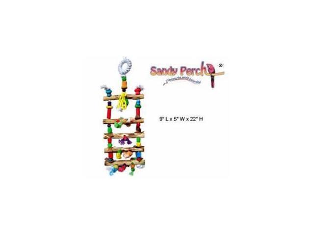 Parrotopia TOYD21 Dazzle 22in Bird Toy