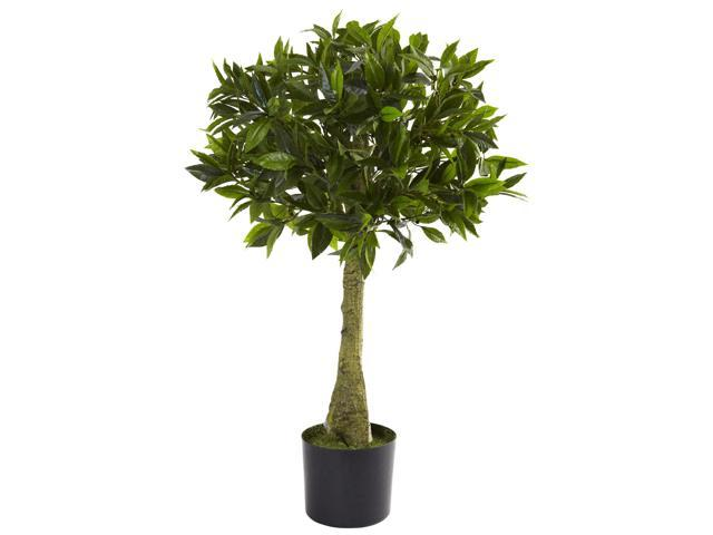 Nearly Natural 3 Bay Leaf Topiary UV Resistant (Indoor/Outdoor)
