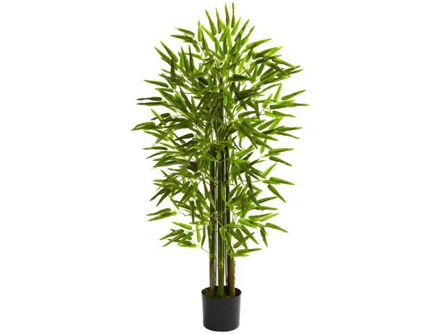 Nearly Natural 4 Bamboo Tree UV Resistant (Indoor/Outdoor)