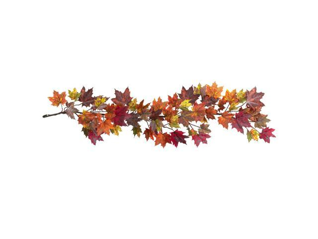 Nearly Natural 60 Maple Leaf Garland