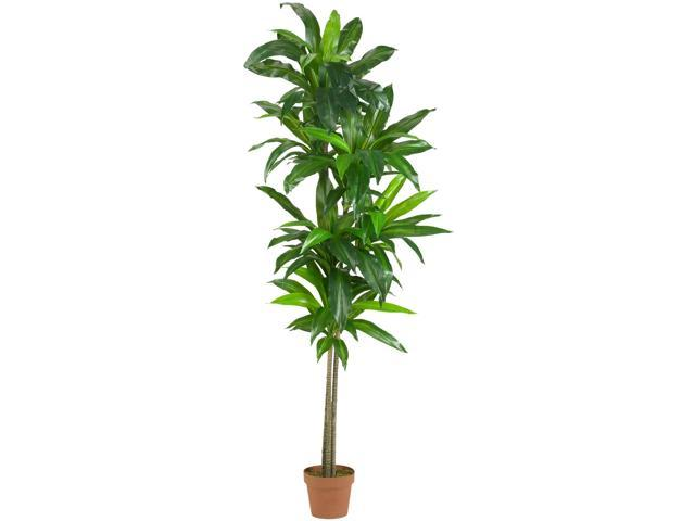 Nearly Natural 6 Dracaena Silk Plant (Real Touch)