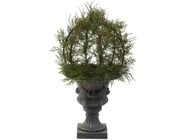 Nearly Natural 30 Pond Cypress Topiary w/Urn (Indoor/OutDoor)