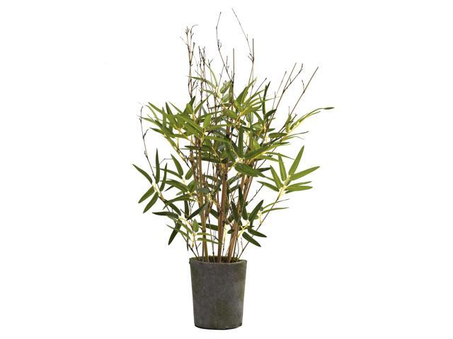 Nearly Natural 27 Bamboo Tree w/Cement Pot