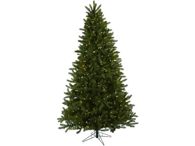 Nearly Natural 7.5 Rembrandt Christmas Tree w/Clear Lights