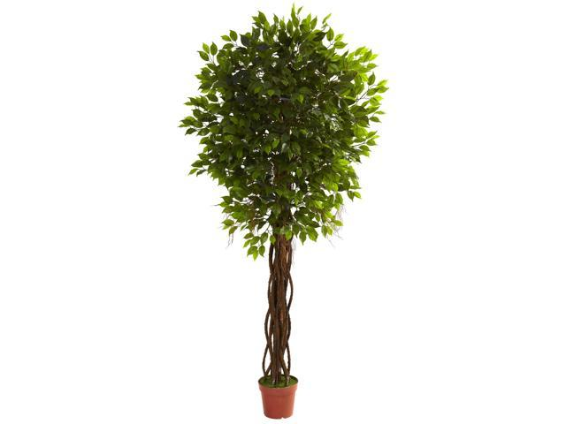 Nearly Natural 7.5 Ficus Tree UV Resistant (Indoor/Outdoor)