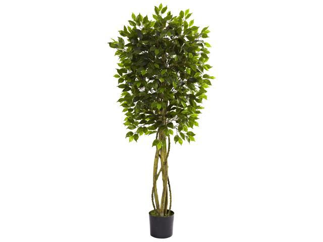Nearly Natural 5.5 Ficus Tree UV Resistant (Indoor/Outdoor)