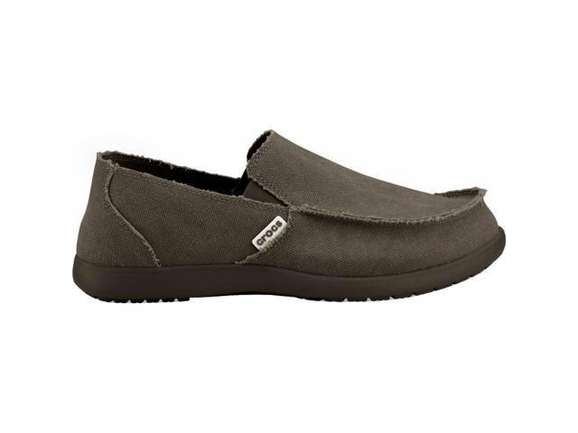 Crocs Men's Santa Cruz Slip-On,Espresso,8 M US