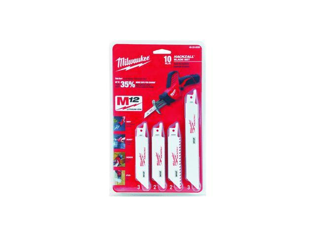 MILWAUKEE 49-22-0220 Hackzall(TM) Blade, 3/4 In. W, 4, 6 In. L