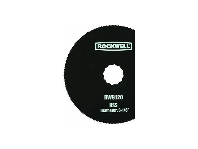 "Worx/Rockwell 3-1/8"" Semicircle Blade"