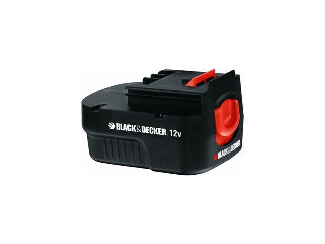Pk Batt 12V 1Ah Nicd Perf Drl BLACK & DECKER Batteries HPB12 028877452586