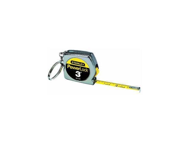 Stanley Tools 3 Key Ring Tape Rule