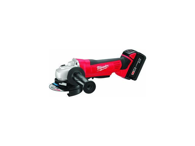 Milwaukee M18 18V Lithium Ion cut Off Grinder.