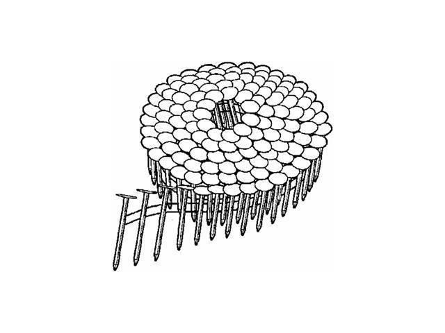 Prime Source Pneumatic Galvanized Coil Roofing Nails.