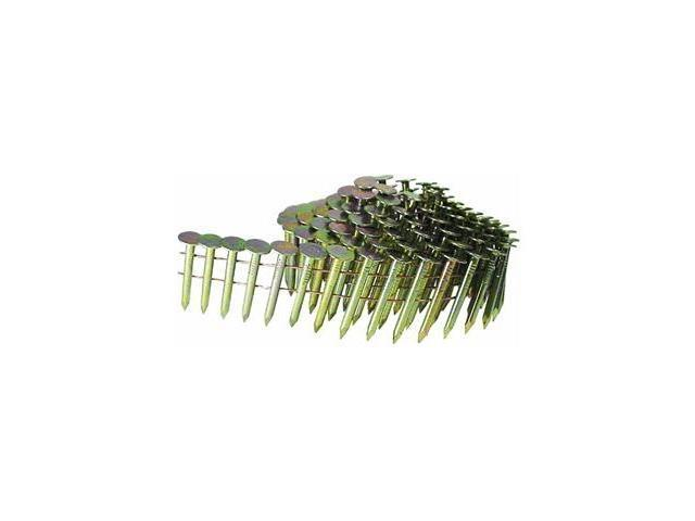 M003104 11-Gauge 1-1/4 in. Electro-Galvanized Coil Roofing Nails (7,000-Pack)