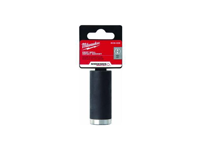MILWAUKEE 49-66-4427 Impact Socket, 3/8 In Dr, 9/16 In, 6 pt