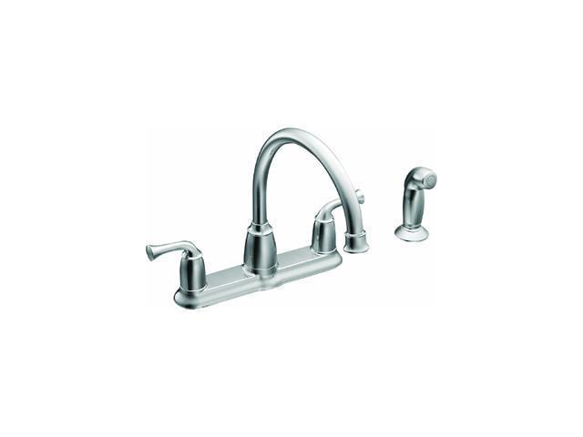 Moen, Inc. 2-Handle Kitchen Faucet.