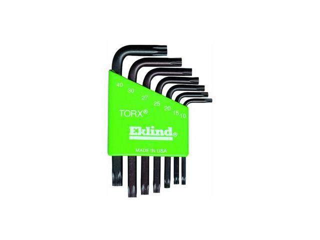 Eklind 7-Piece Short Arm Torx Key Set.