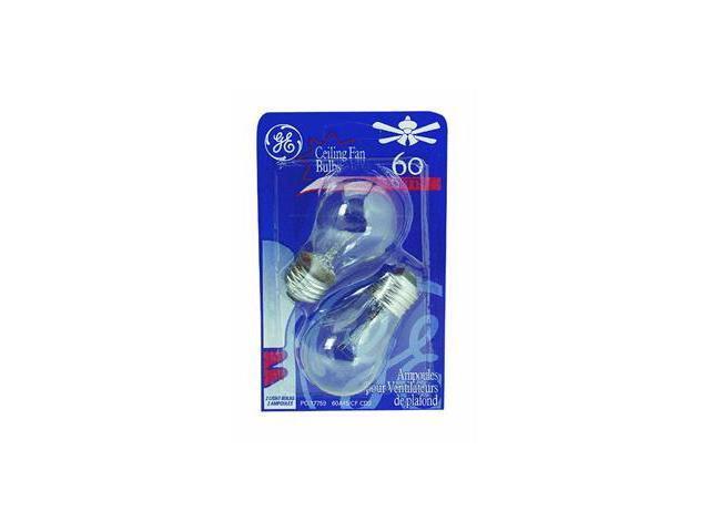 Ge Lighting 60W Clr Ceiling Fan Bulb 44407 60A15/Cf/Cd2