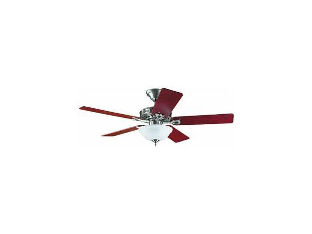 H22460 52 in. Astoria Brushed Nickel Ceiling Fan with Light