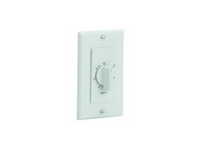 Broan-nautilus P59W White 60 Minute Fan Control Timer Switch
