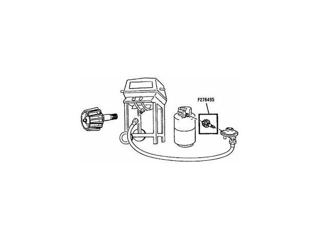 Mr. Heater Appliance End Fitting F276495