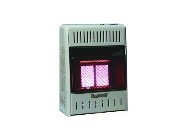 2PLAQUE INFRARED NAT GAS HEATR