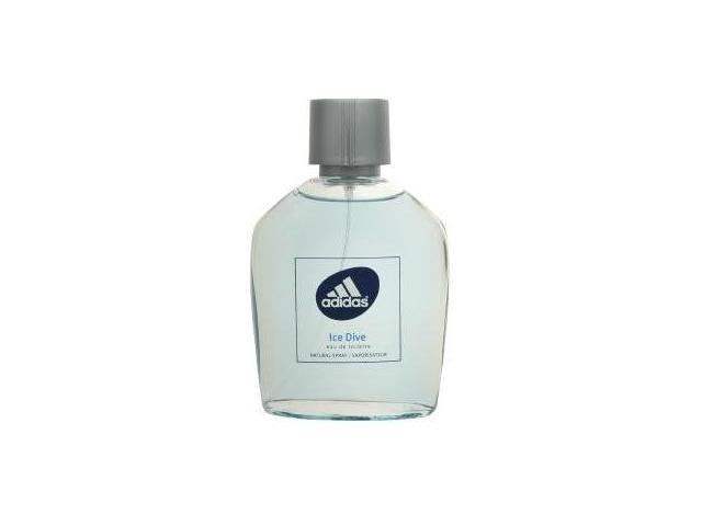 Adidas Ice Dive - 3.4 oz EDT Spray (Unboxed)