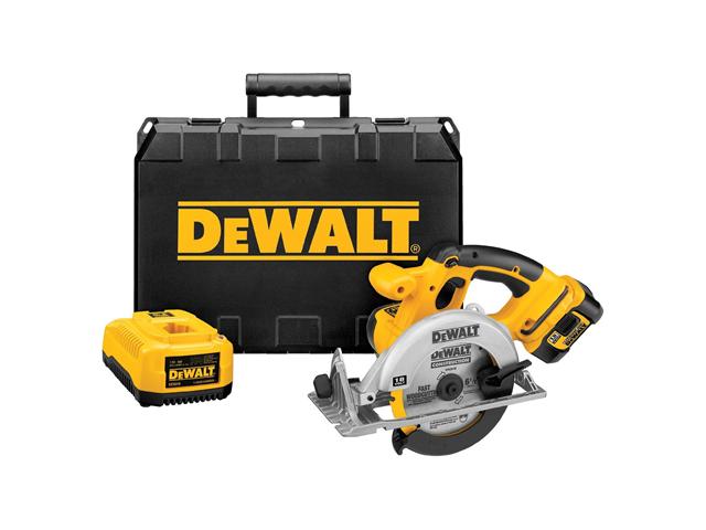 DeWALT DCS390L 18-Volt XRP Lithium-Ion Circular Saw Kit