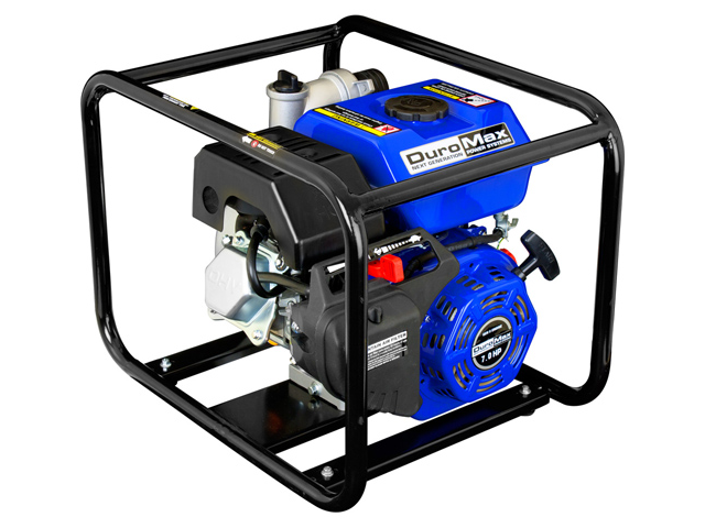 DuroMax XP652WP 2'' Portable 7 HP Gas-Powered Water Trash Pump