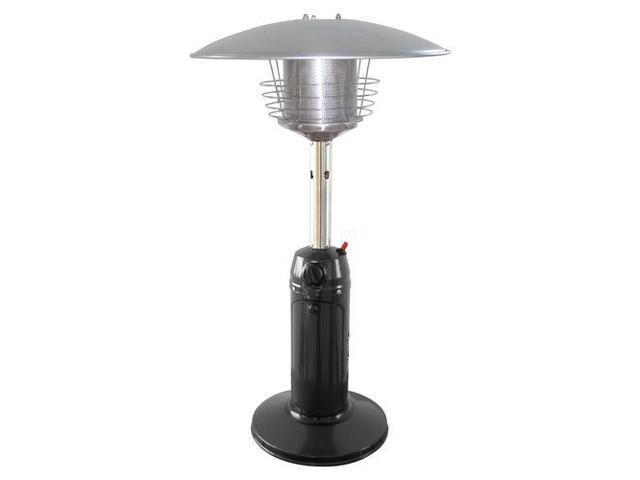 Garden Sun GS3000BK Stainless Steel Table Top Outdoor Patio Heater - Black