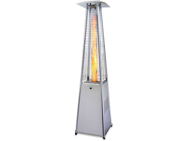 Garden Radiance GRP4000SS Stainless Steel Pyramid Outdoor Patio Heater