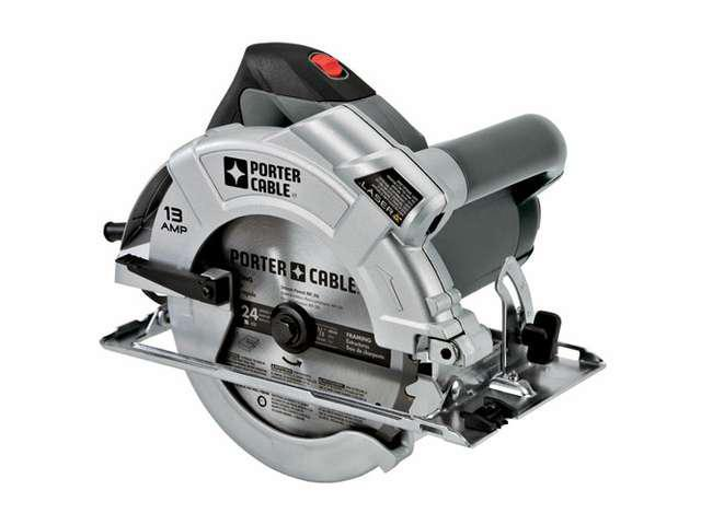 Porter Cable Circular Saw With Laser.