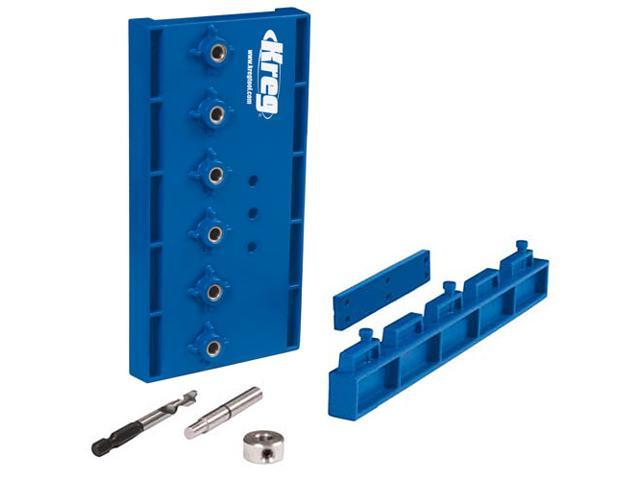 Kreg KMA3220 Jig Shelf Pin Hardened Steel Drill Guide 5mm Kit