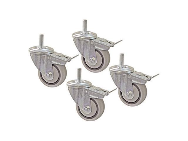 Kreg PRS3090 4-Piece 3-Inch Dual Locking Caster Set