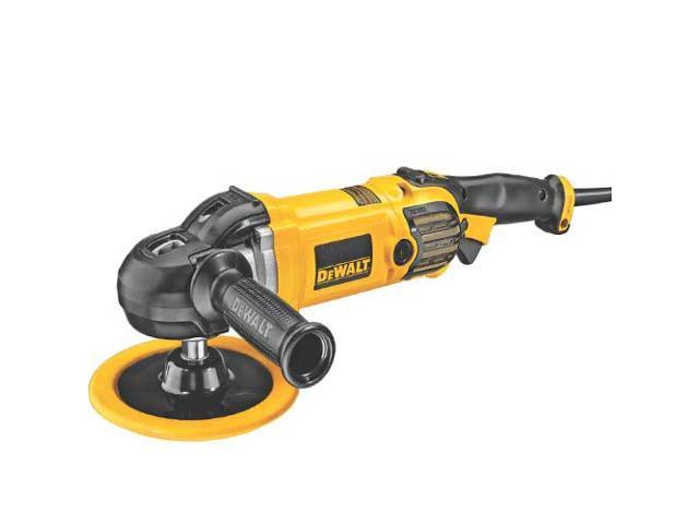 DWP849X 7 in. / 9 in. Variable Speed Polisher with Soft Start
