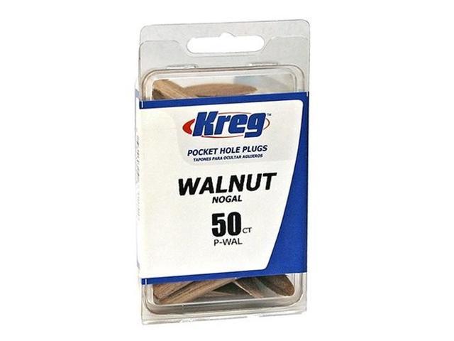 Kreg P-WAL Walnut Pocket Hole Plugs - 50 Count