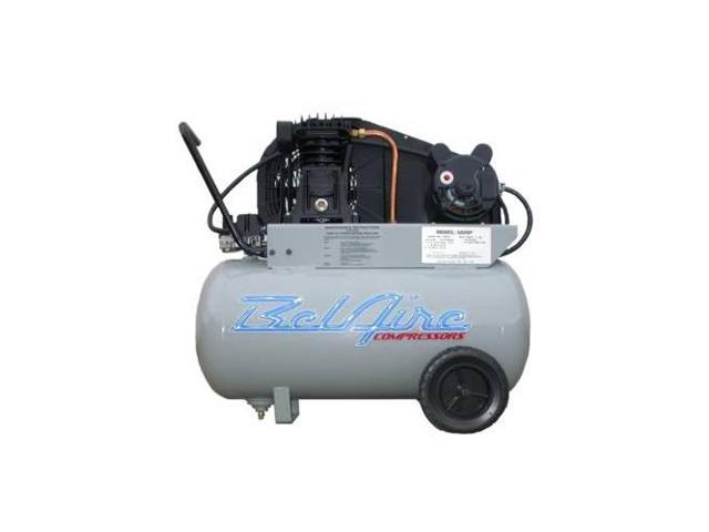 BelAire 5020P 2 HP 20 Gal Single Stage Electric Compressors (115-230 1-Phase)