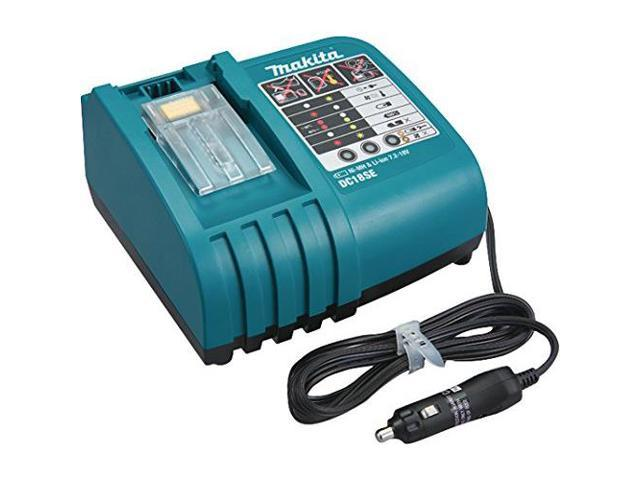 MAKITA DC18SE Battery Charger, 7.2 to 18.0V, Li-Ion