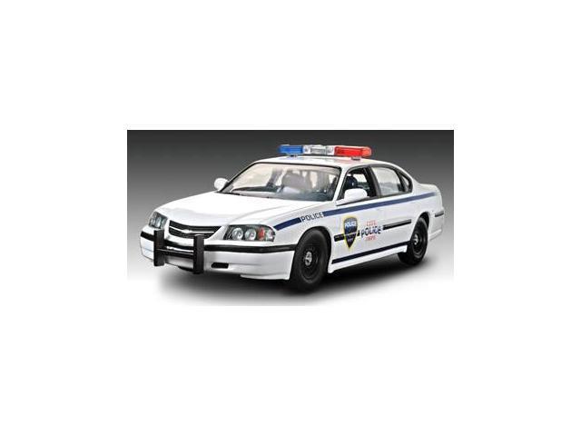 Revell 1/25 SnapTite 2005 Chevy Impala Police Car Car Model Kit - 851928