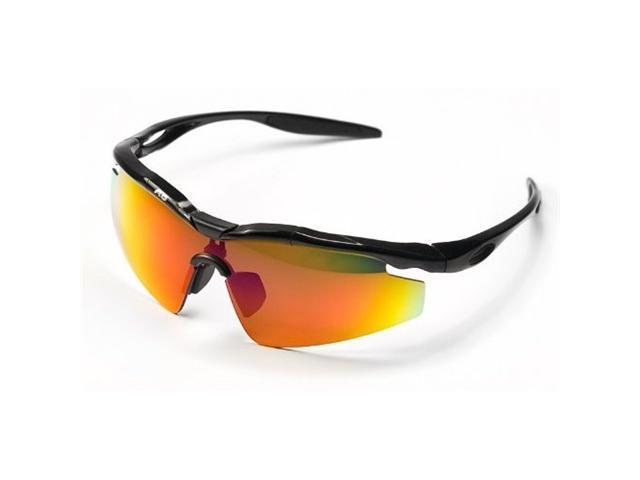 Barska - Sports Sunglasses w/3 Interchangeable Lenses