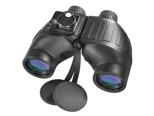 7x50 Battalion WP Tactical Binoculars w/Internal Rangefinder and Directional Compass