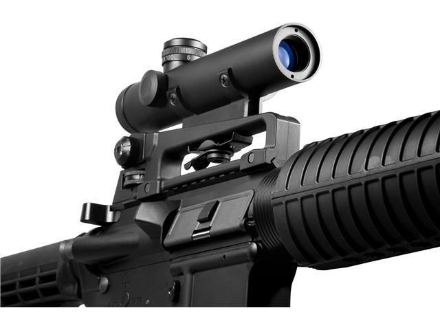Barska 4x20 M-16 Carry Handle/ Electro Sight Scope