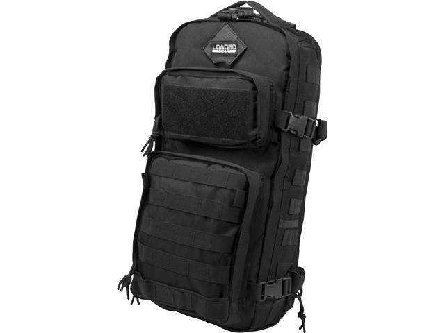 Loaded Gear Optics BI12326 GX-300 Tactical Sling Backpack - Black