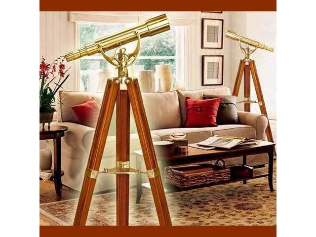 15-45X50 Anchor Master Telescope w/ Floor Tripod