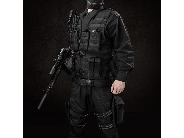 Loaded Gear VX-100 Tactical Vest and Leg Platform