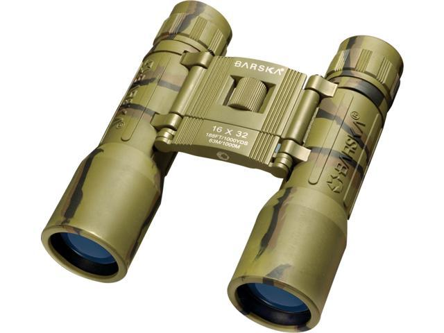 BARSKA LUCID VIEW 16x32 Clam Compact Binoculars