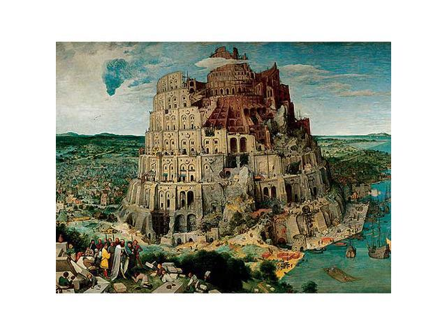 The Tower of Babel Jigsaw Puzzle: 5000 Pcs