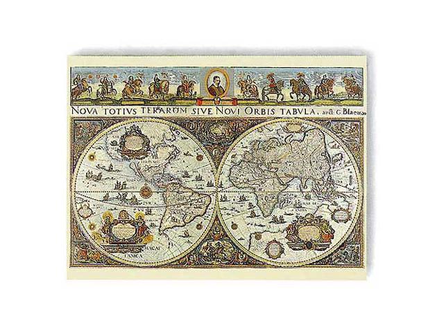 World Map, 1665 Jigsaw Puzzle: 3000 Pcs