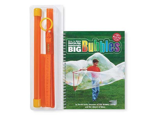 How To Make Monstrous/Huge/Unbelievably Big Bubbles Book Kit